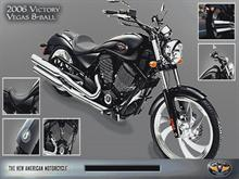 Victory Jackpot 8-Ball Motorcycle