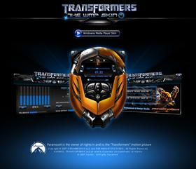 Transformers skin