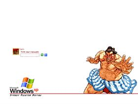 Street Fighter Logon - E. Honda