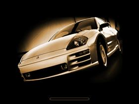 Mitsubishi Eclipse 3G - gold