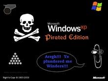 Spfshrimp's XP Pirated Edition Bootskins