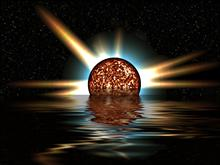 Planet Explode Water