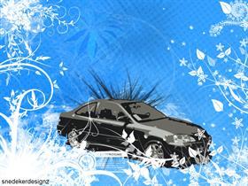 Grunged Honda