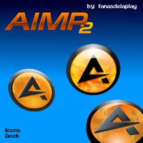 Aimp 2 Icons Dock