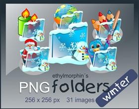 Winter folders