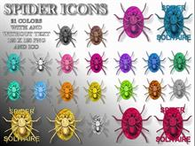 Spider Icons