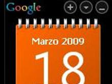 1spray Vista like Calendar (orange and white)