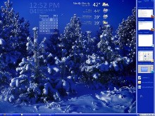 Sapphire Blue Winter Tiles