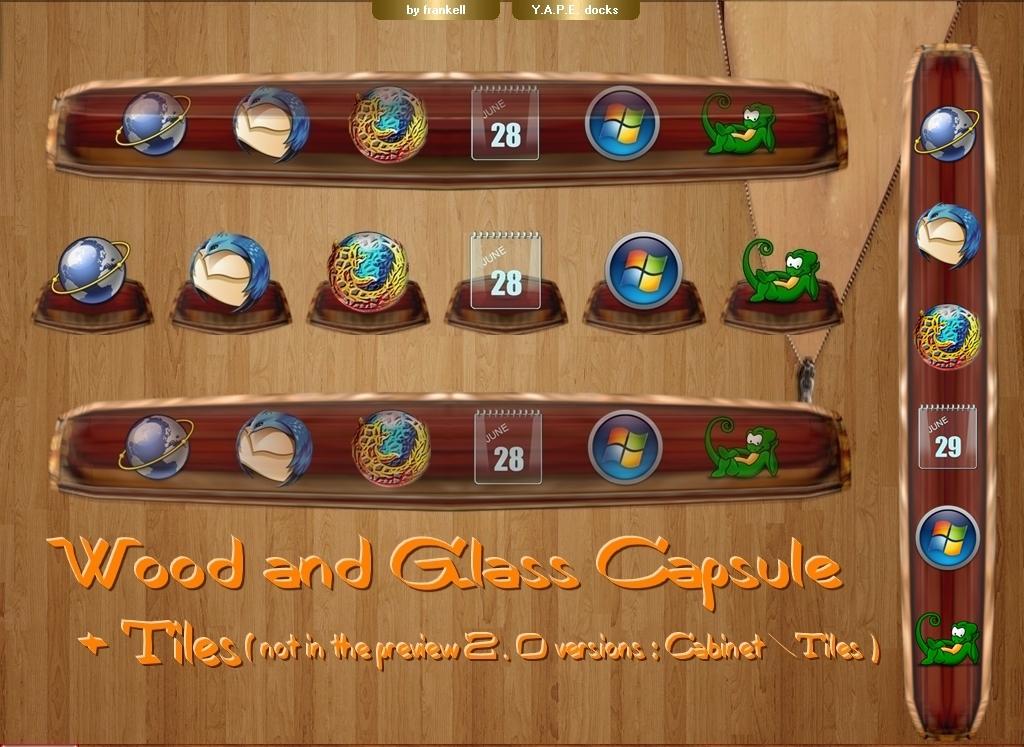 Wood.Glass Capsule ...