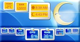 SysStats Weather And Hardware Monitors