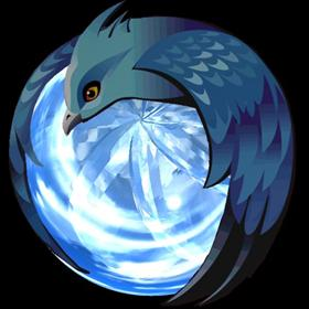 Animated 3D Thunderbird Icon