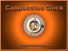 Cappuccino Clock