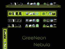 GreeNeon Nebula Bakgrounds
