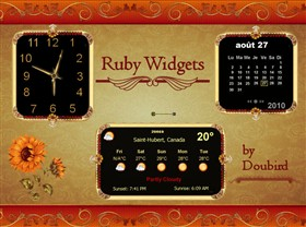 Ruby Widgets