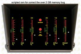 Star Trek Original CPU/MEM Meter 1.02