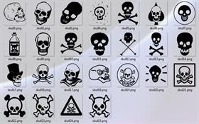 Skull Emoticons