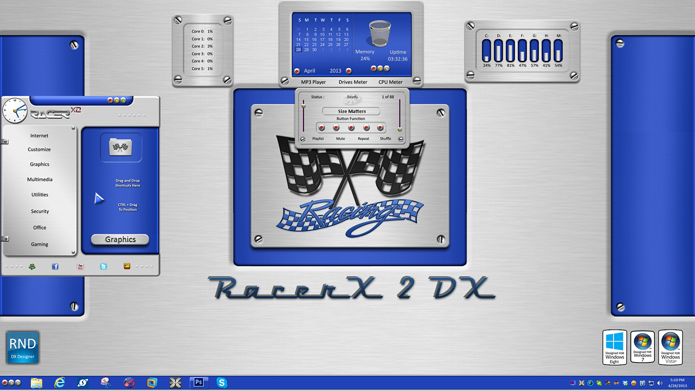 RacerX2 DX