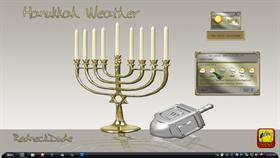 Hanukkah and Friends Weather