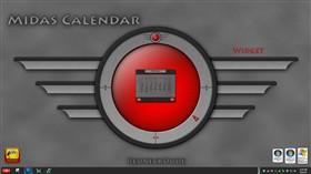 Midas Calendar Widget