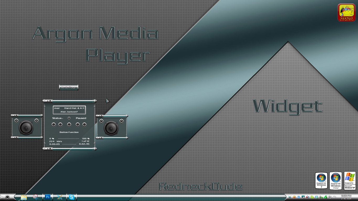 Argon Media Widget