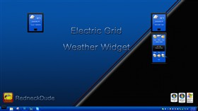 Electric Grid Weather Widget