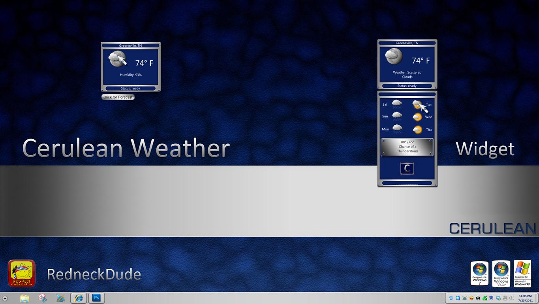Cerulean Weather Widget