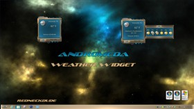Andromeda Weather Widget