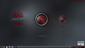 HAL 2030 Clock Widget