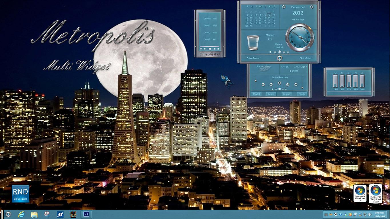Metropolis Multi Widget