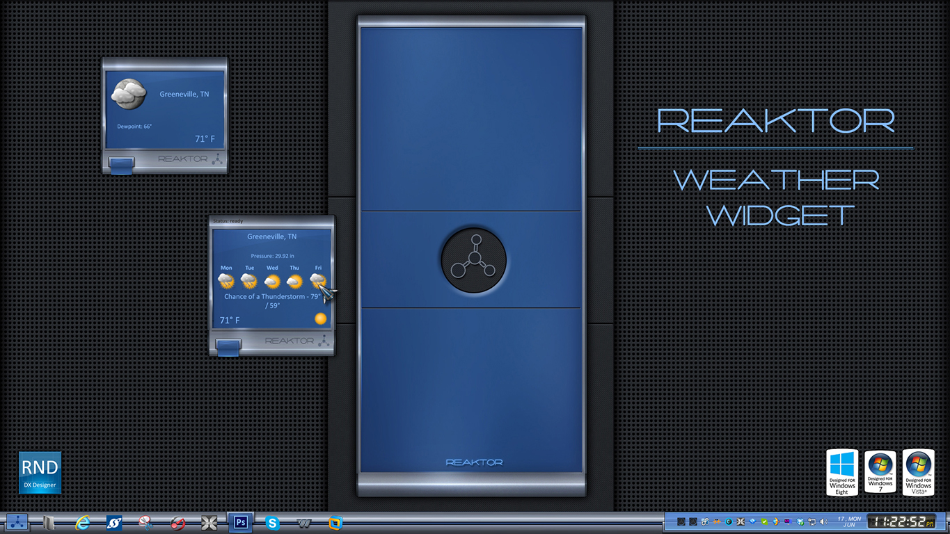 Reaktor Weather Widget