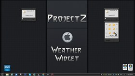 ProjectZ Weather Widget