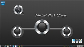 Criminal Clock Widget