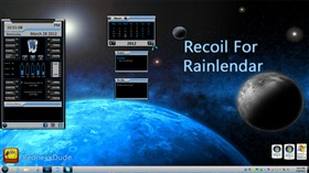 Recoil Rainlendar