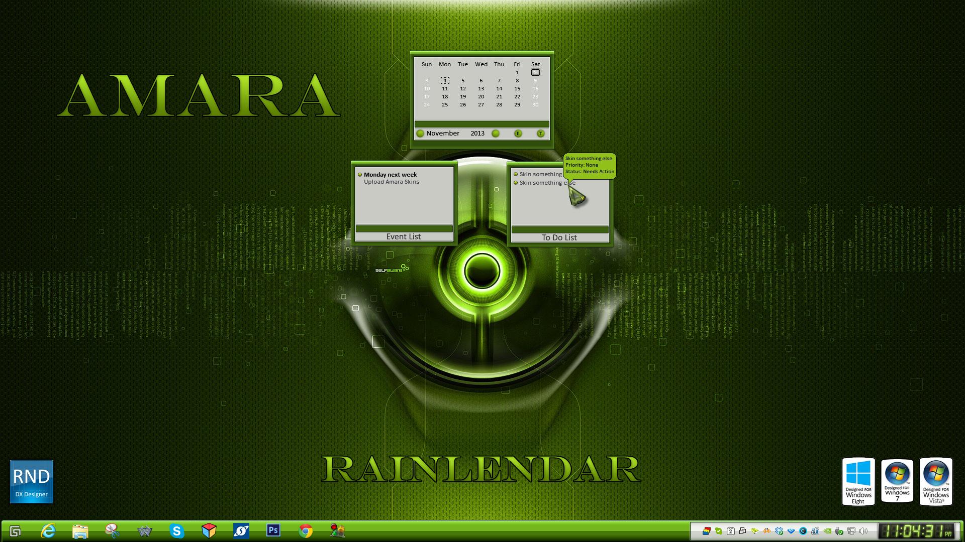Amara Rainlendar