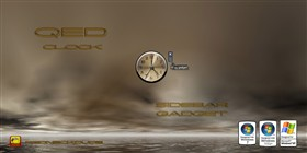 QED Clock Sidebar Gadget