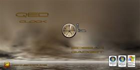QED Clock Sidebar Gadget