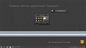 Display Array Weather Gadget