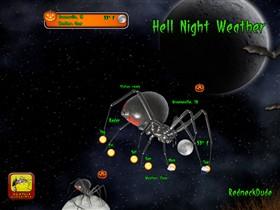 Hell Night Weather Gadget