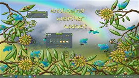 ecoLogical Weather Gadget