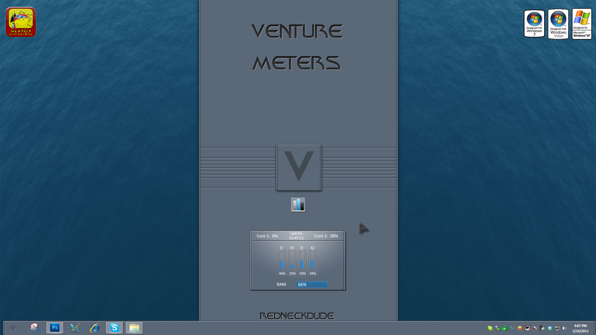 Venture Meters Gadget