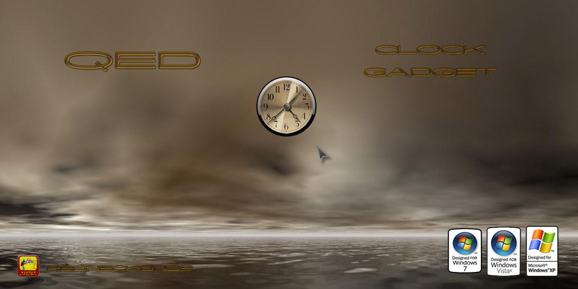 QED Clock Gadget