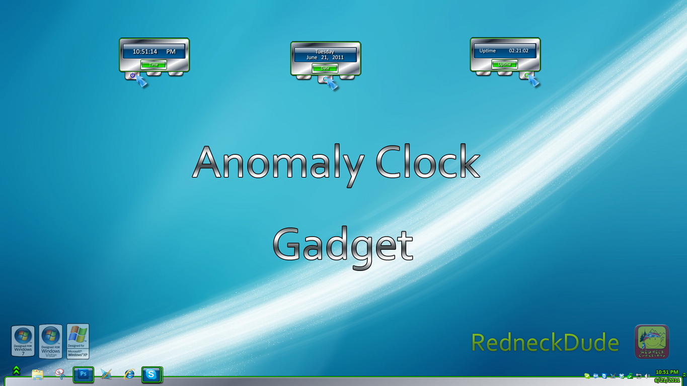 Anomaly Clock Gadget