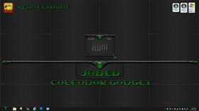 Jaded Calendar Gadget