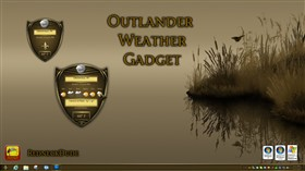 Outlander Weather Gadget