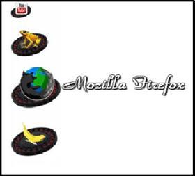 Mozilla Firefox black