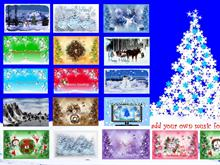 Holiday Walls Collection ScSv 2pk