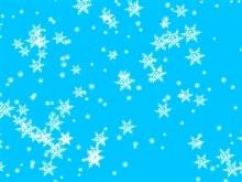 Light Blue Snow