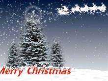 Christmas Tree 3 Santa