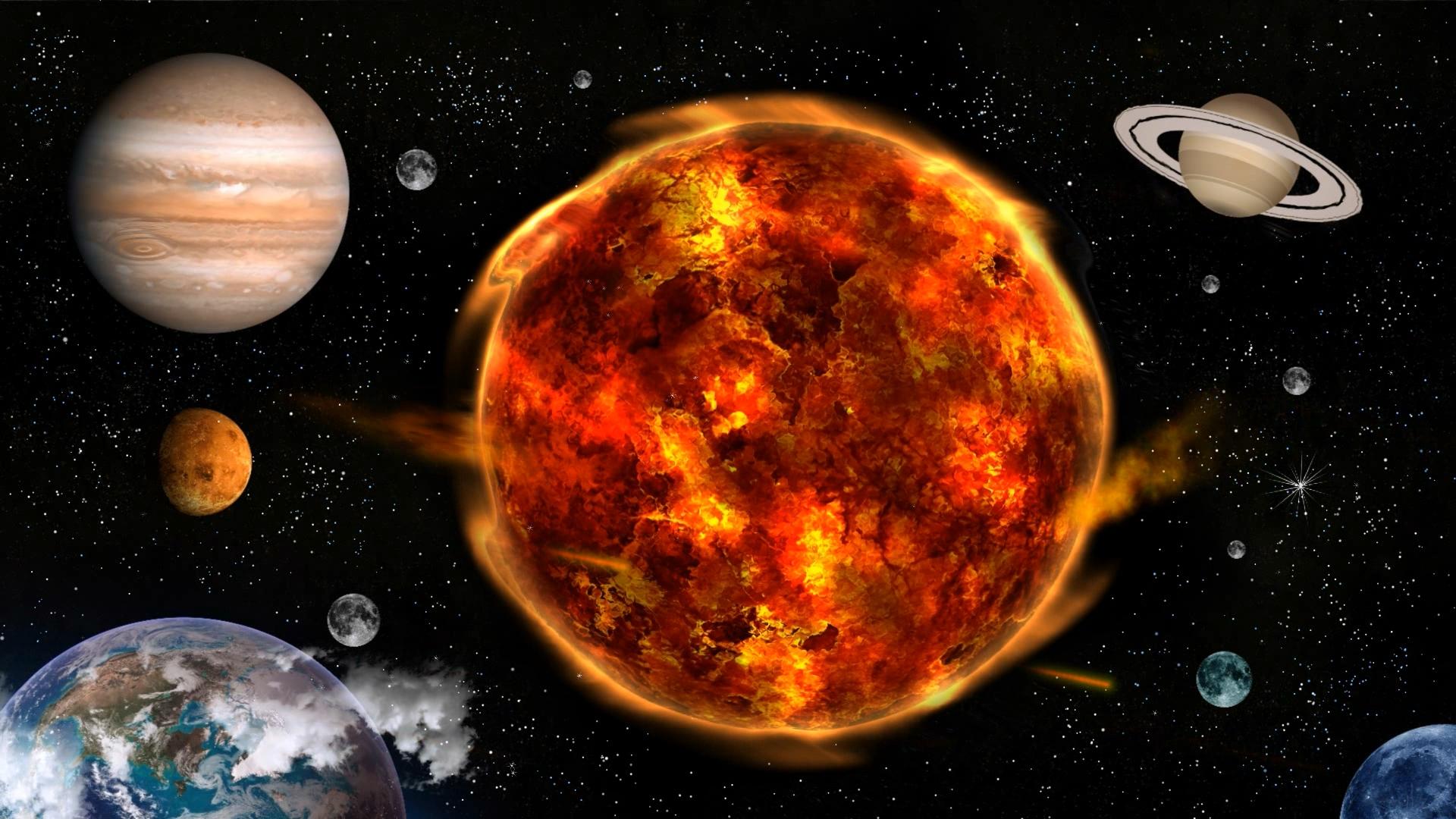 WinCustomize: Explore : Dream : Solar System Gone Wild
