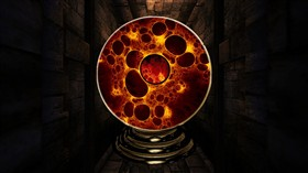 Magic Plasma Fire Ball Logon